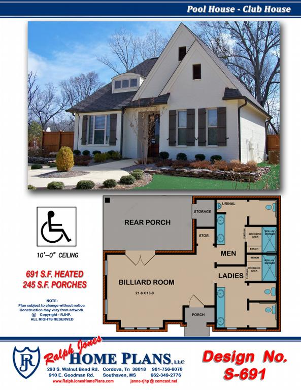 Ralph jones home plans llc house design plans for Design homes llc