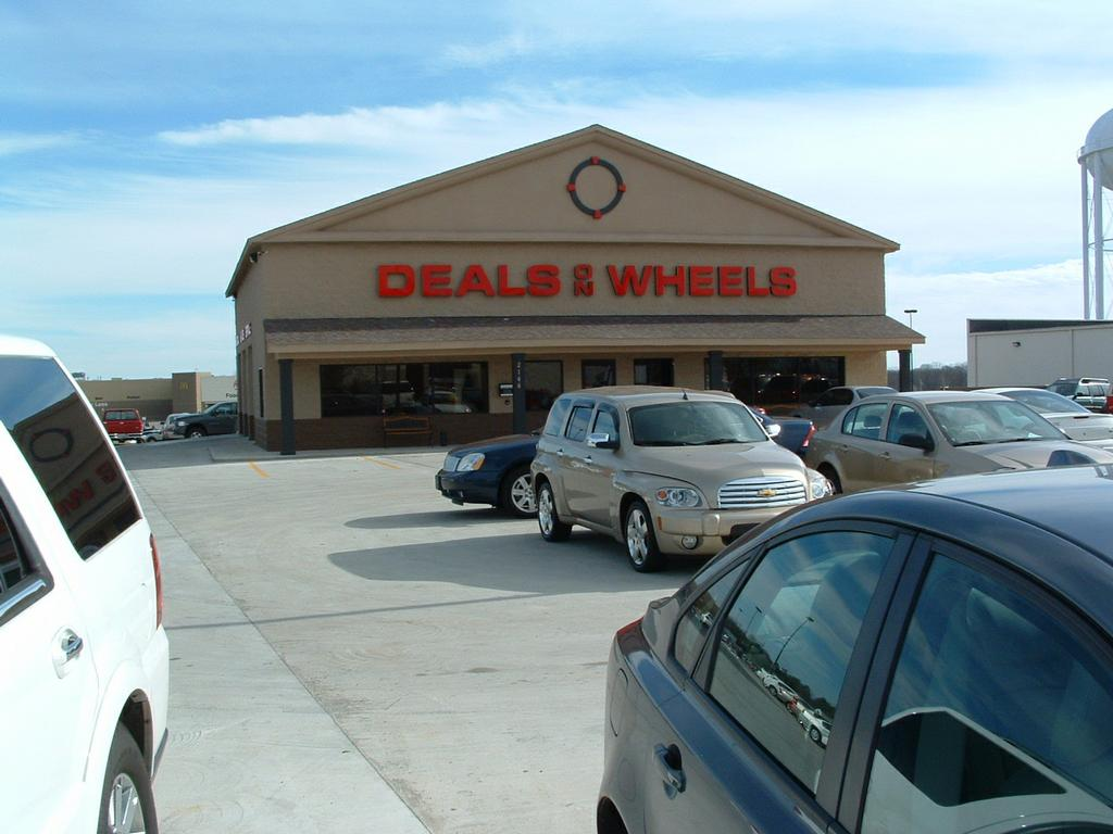 Deals on wheels 38464