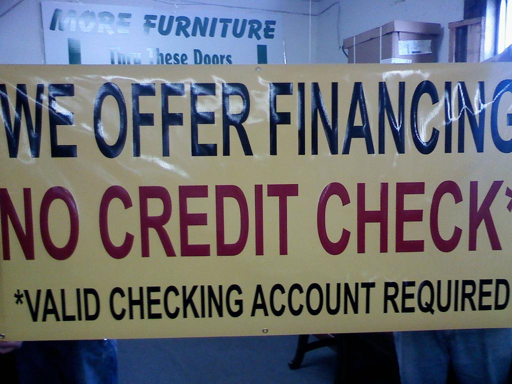 No Credit From Sanders Furniture In Nashville Tn 37209
