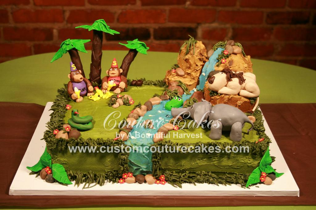 Jungle cake gallery for couture cakes