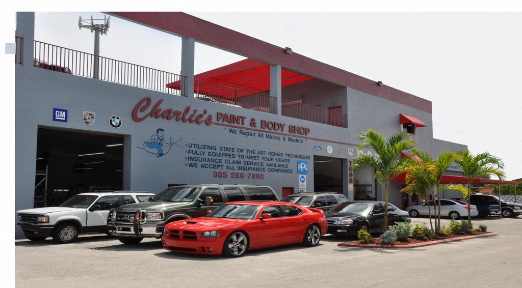 Charlie S Paint Body Shop Miami Fl
