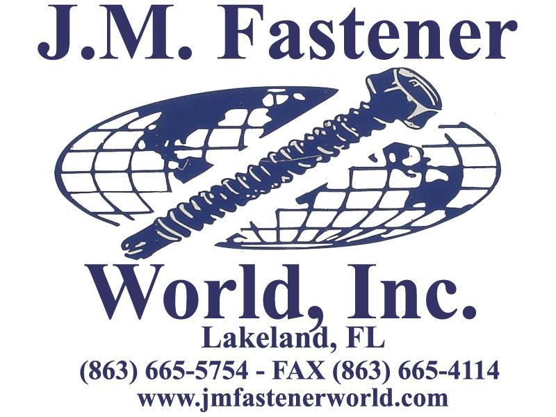 J M Fastener World Inc Lakeland Fl 33801 800 444 3715