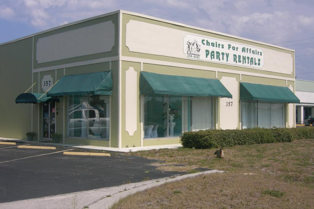 Chairs for Affairs Party Rentals, Melbourne FL 32935