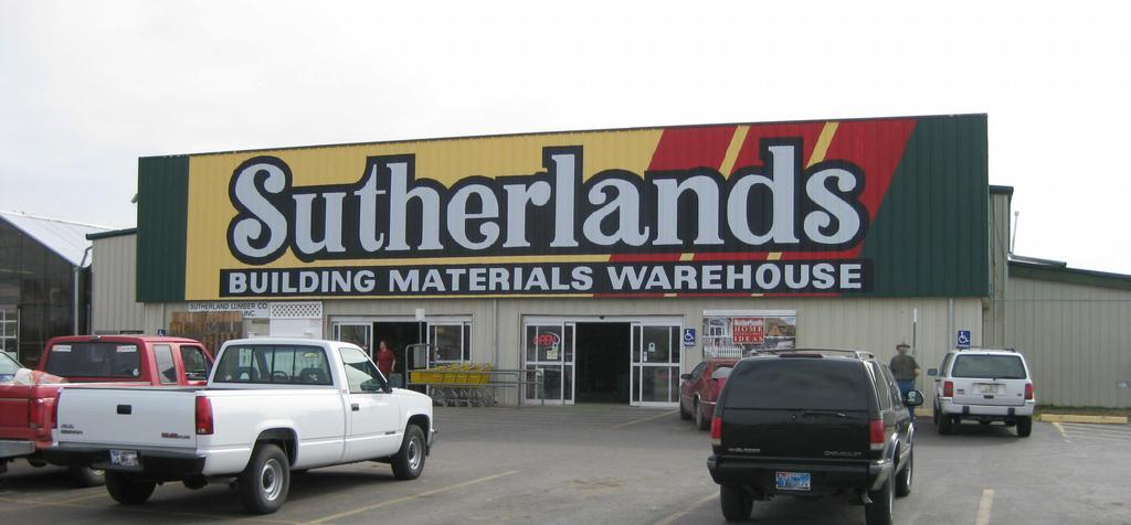 Sutherlands homebase lumber amarillo tx 79110 806 373 3057 for Homebase decking boards