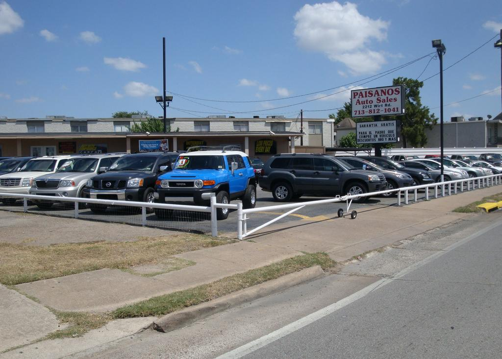 Nissan Walnut Creek >> Paisanos Auto Sales - Houston TX 77055 | 713-812-1041