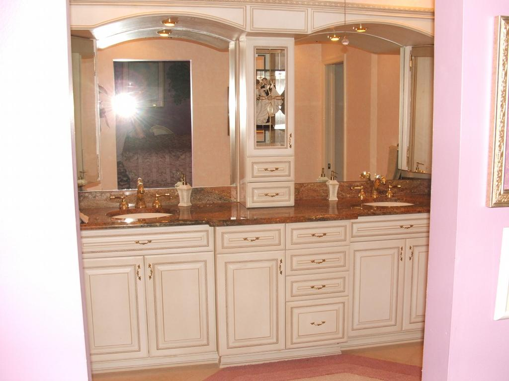 bathroom tower jpg by k k cabinets inc