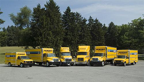 Penske Trucks All From Hertz Penske Truck Rental In