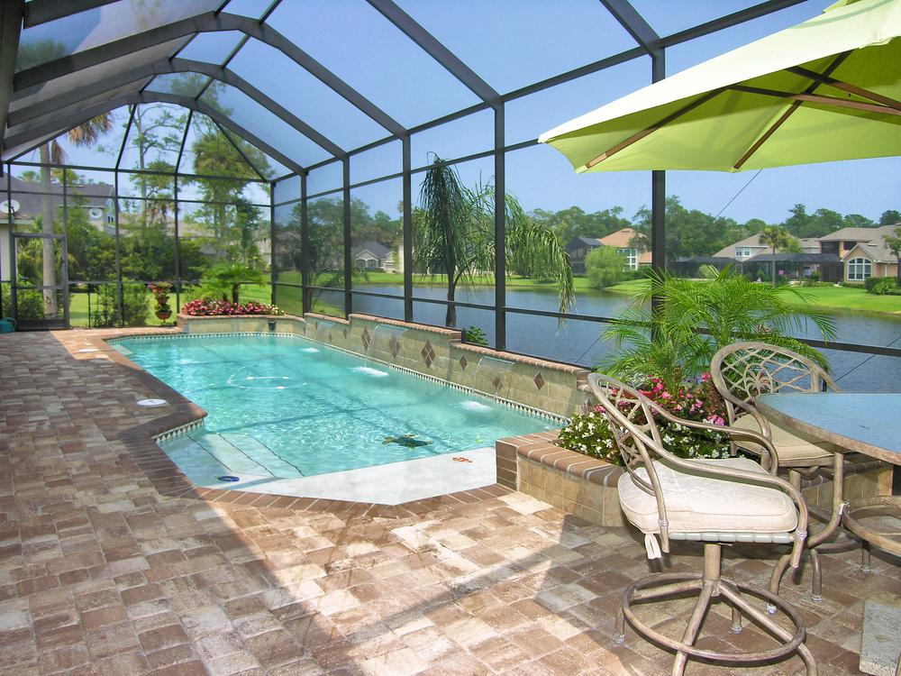 Screened In Pool : United scapes of america seminole fl