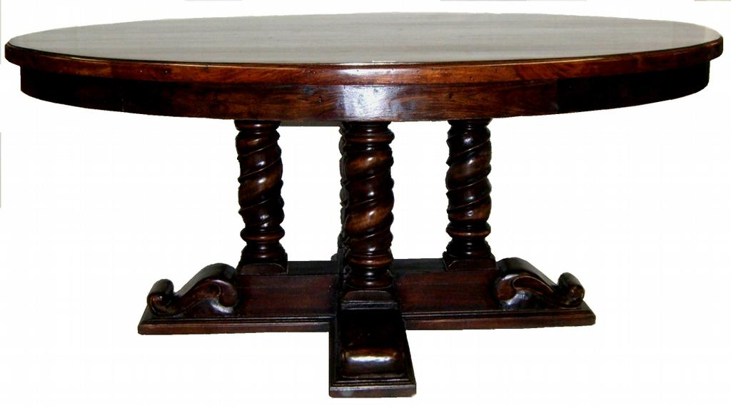 60 inch round dining in round pedestal dining for Dining room table 60 inch round
