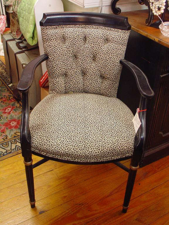 Antique furniture animal print chair spring houston tx for Outdoor furniture 77386