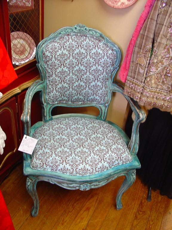 Antique painted furniture chair spring houston tx from for Outdoor furniture 77386