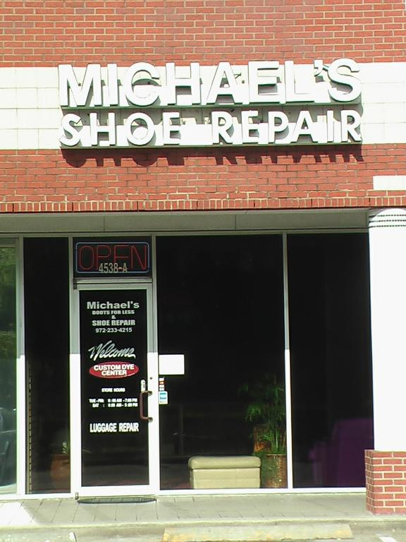 Shoe Repair Allen Tx