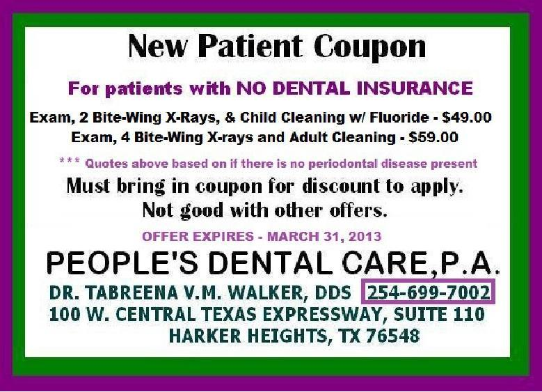 Dental Coupon Template  EnderRealtyparkCo