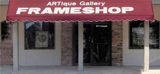 Artique Gallery & Frameshop - San Antonio, TX