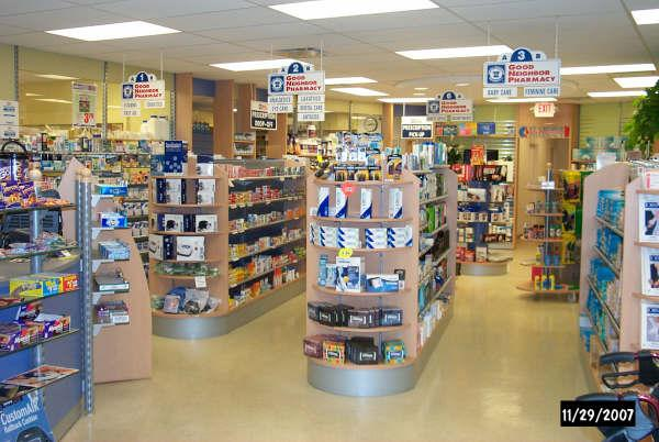 sales floor from St George Pharmacy in Palm Harbor, FL 34684