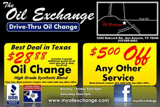 Oil Exchange - San Antonio, TX