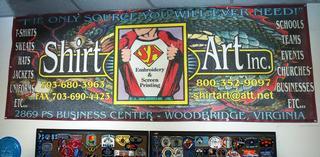 Shirt Art Inc - Woodbridge, VA