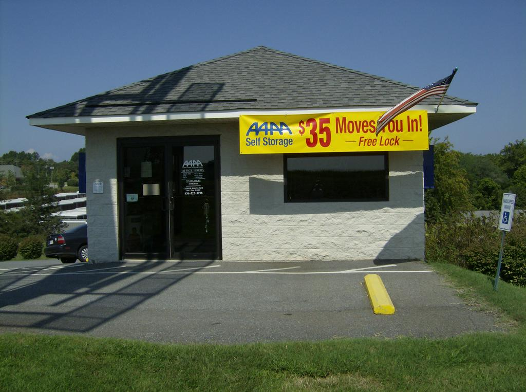 Aaaa Self Storage Forest Road Forest Va 24551 434 525