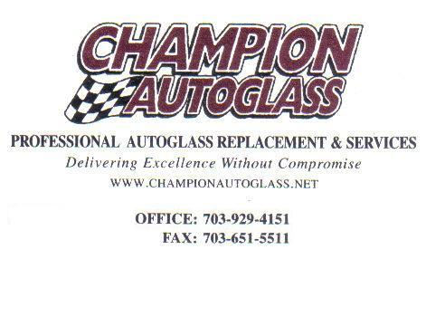 Auto Repair Woodbridge on Champion Auto Glass  Woodbridge Va 22191