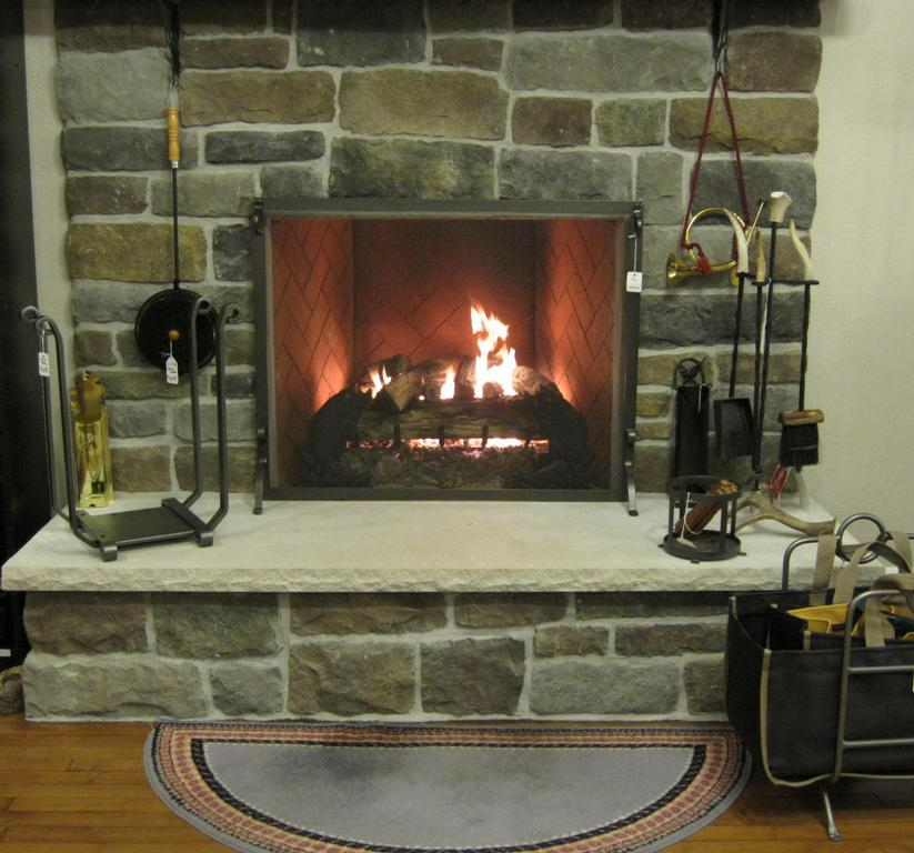 gas log fireplace and accessories from truttmann hearth