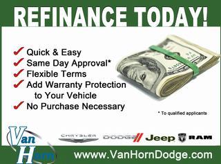 Auto Refinance Racing on Refinance Your Auto Loan With Van Horn Dodge Today    Van Horn Dodge