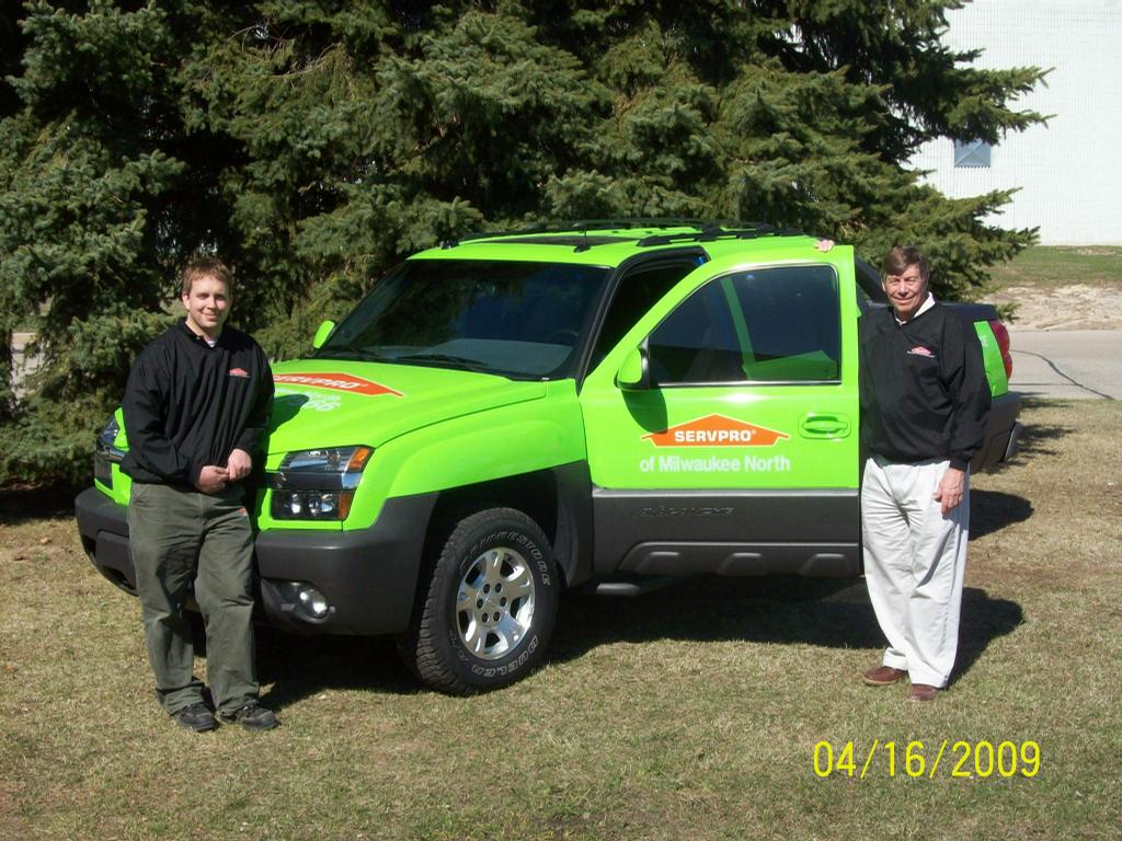 Chad and Roger - Owners by Servpro of Milwaukee North