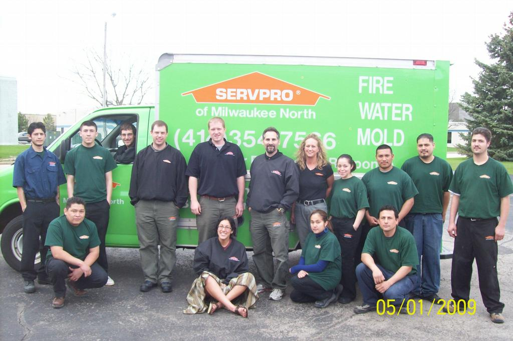 Employee Photo by Servpro of Milwaukee North