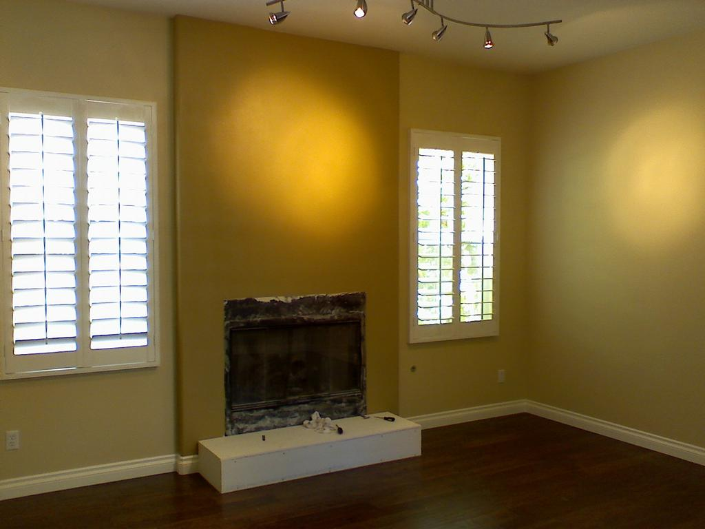 Two Color Living Room from New Life Painting in San Marcos, CA 92078