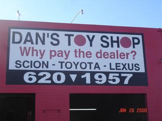 Dan's Toy Shop INC - Tucson, AZ