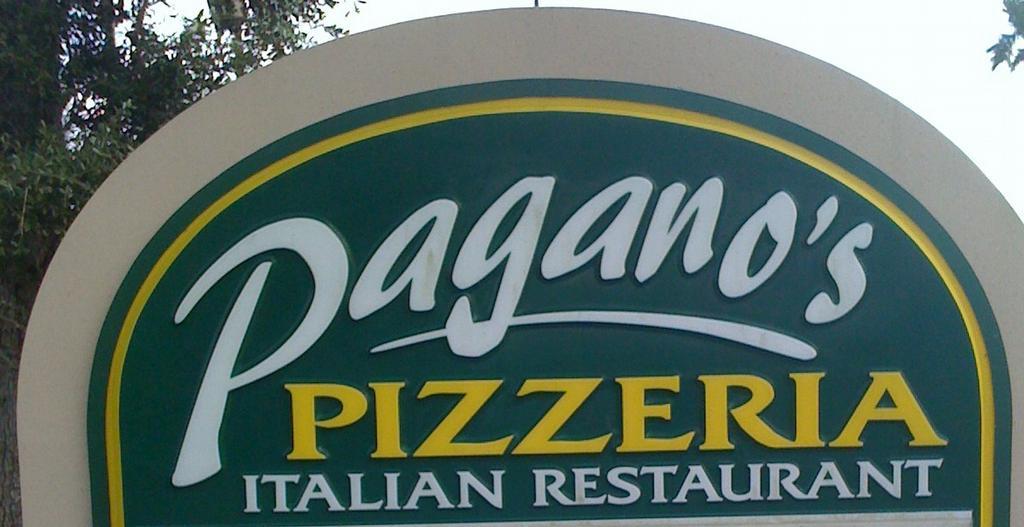 Pagano S Pizzeria Daytona Beach Fl 32119 386 767 3635