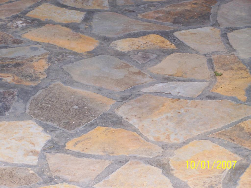 Flag Stone Patio Dark Mortar From About Investment Contractors In Wilsonvill