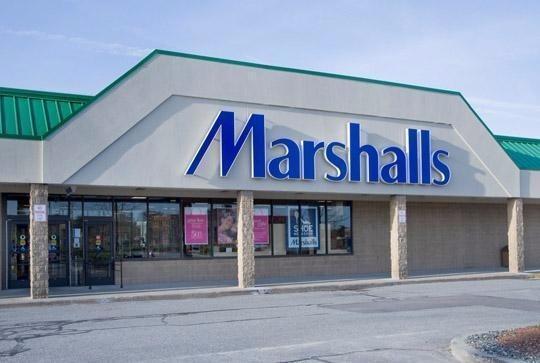 Marshalls clothes store