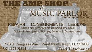 A M P Shop & Music Parlor - West Palm Beach, FL