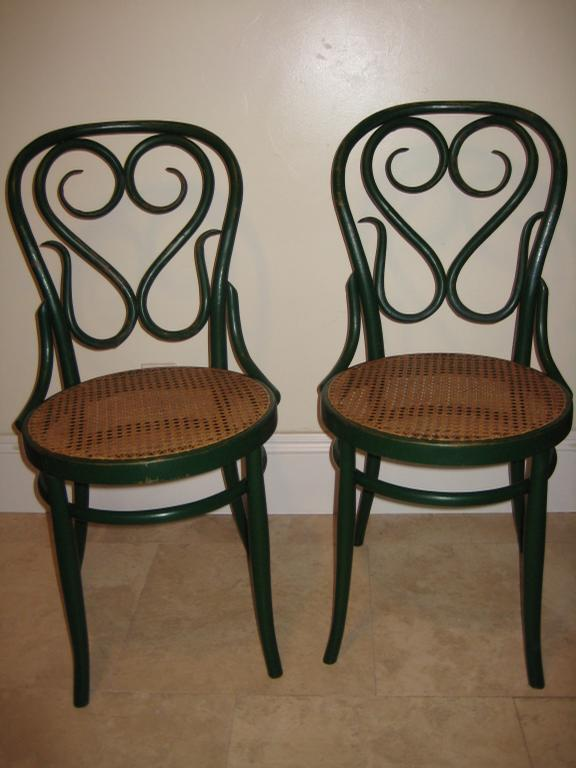 Antique Bentwood Chairs With Caned Seats Replaced From Cane - Antique Bentwood Furniture - Furniture Designs