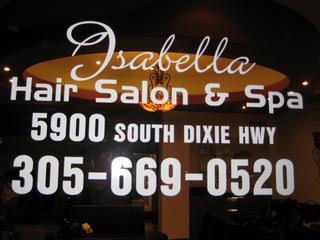 Isabella Hair Salon - Miami, FL