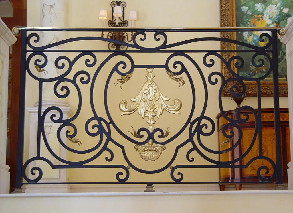 Custom Wrought Iron Stair Railings From Deco Design Center