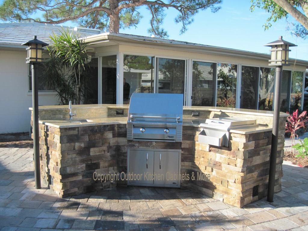 outdoor kitchen cabinets polymer outdoor kitchen building and design. Black Bedroom Furniture Sets. Home Design Ideas