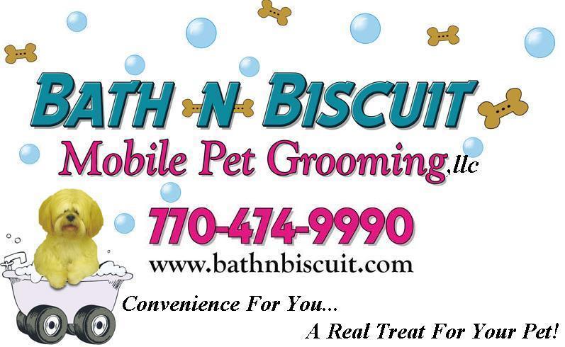 Bath n biscuit mobile pet grooming stockbridge ga 30281 for A bath and a biscuit grooming salon
