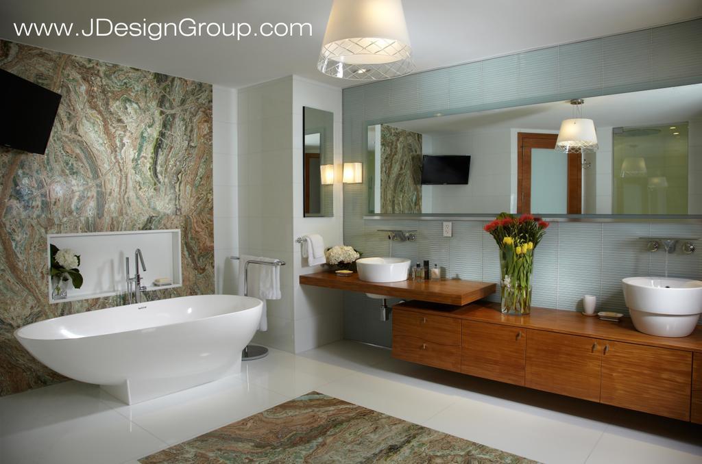 Modern Bathroom Design Miami pictures for j design group in miami, fl 33134 | architecture