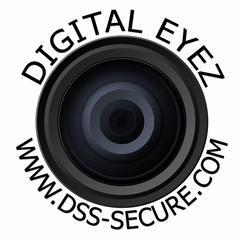 Digitaleyes Logo White Background Black Letter From