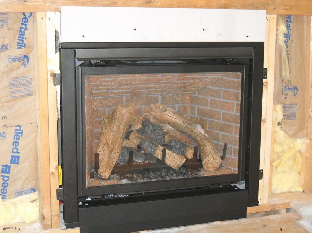 Heat N Glo Gas Fireplace Installation From Village In