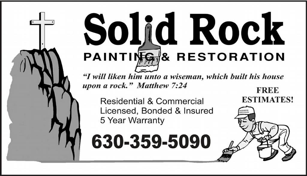 Solid Rock Painting Amp Restoration Elmhurst Il 60126