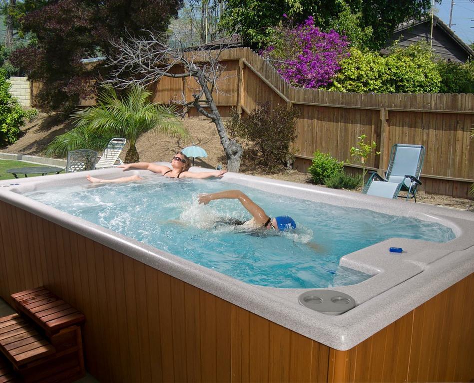 Backyards with jacuzzi joy studio design gallery best for Pool design generator