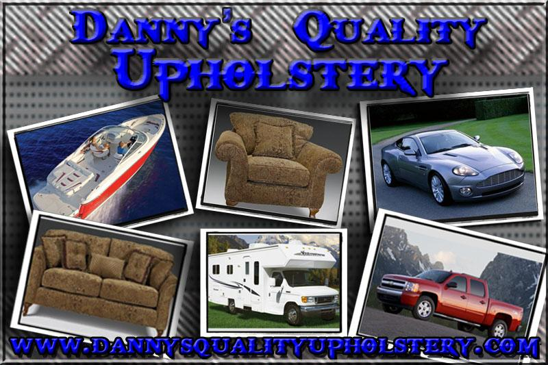 Business Card Back Copy From Dannys Quality Upholstery In