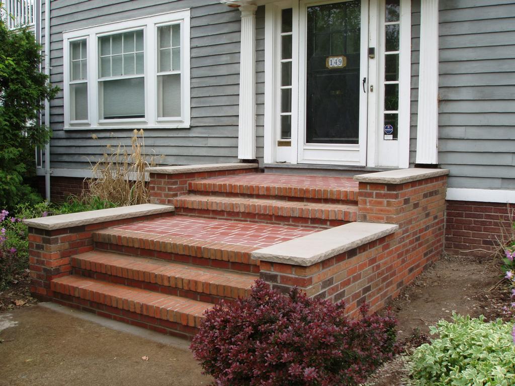 Best Brick Front Steps Exterior Home Remodel Pinterest 640 x 480