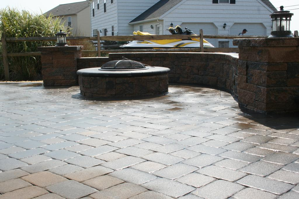 Fire Pit Liner Fire Pit With Seating Wall