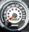 mach Z speedo by O'Connor and Son's  Marine & Snowmobile