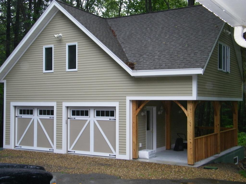 hamilton custom built garage from gonyea construction