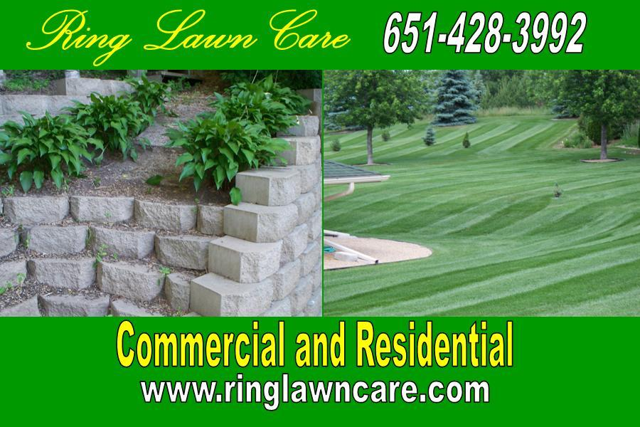 Ring Lawn Care Flyer post 2010 from Ring Lawn Care in Stillwater, MN 55082