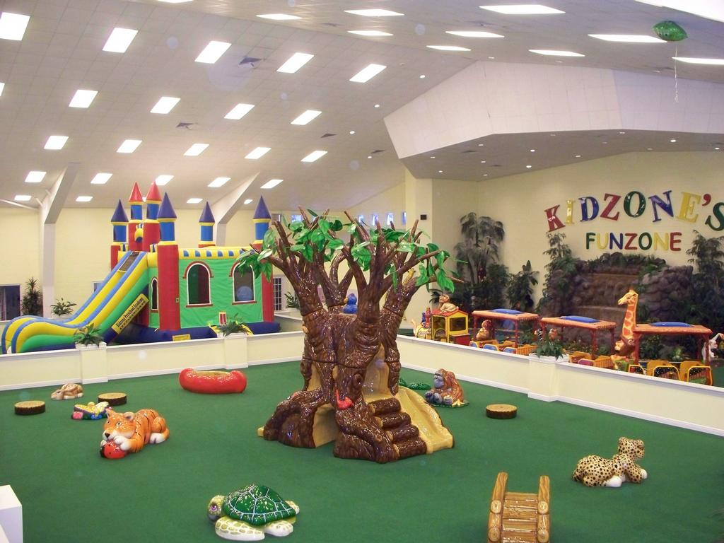 indoor playground picture february 2010 from kidzone